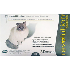 Buy Revolution For Cats 5 15lbs 6 Pack Online Prescription
