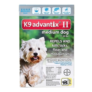 Buy K9 Advantix II Online, Otc Medicine For Dogs