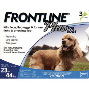 Buy Frontline Plus for Dogs Online, Otc Medicine For Dogs
