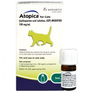 Buy Atopica Liquid for cats Online, Rx Medicine For Cats