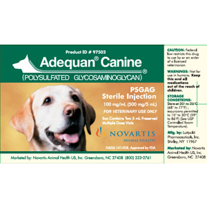 Buy Adequan Canine Online, Rx Medicine For Dogs