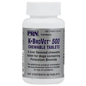 Buy K-Brovet Potassium Bromide Online, Rx Medicine For Dogs