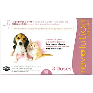 Buy Revolution for Puppies and Kittens Online, Rx Medicine For Dogs